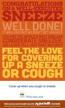 Sneeze Poser